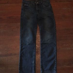 Boys Lucky Brand blue jeans